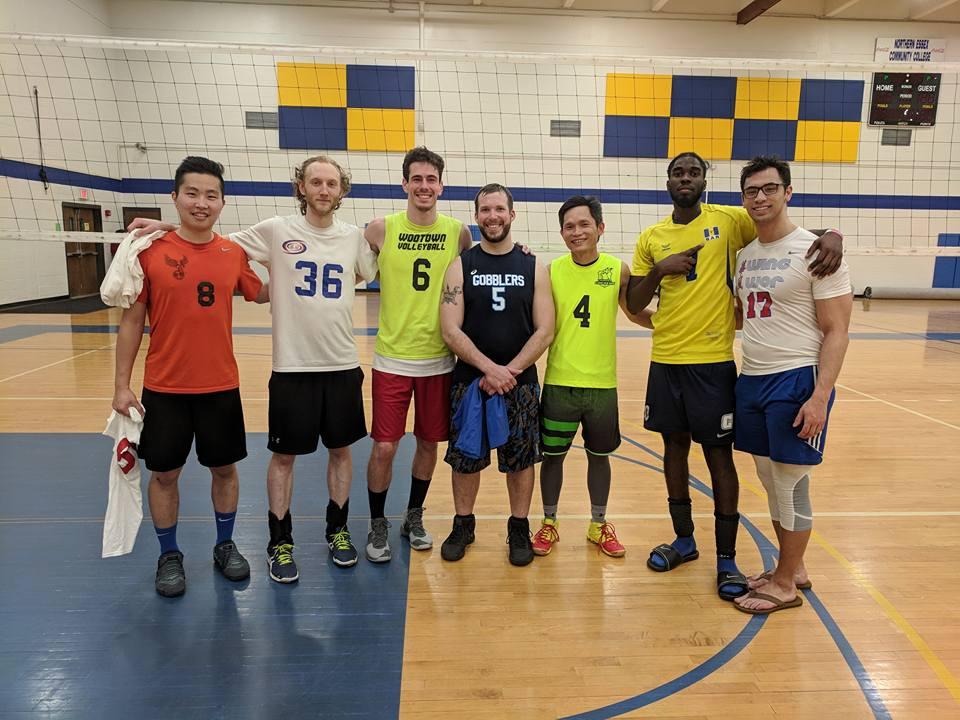 04/14/2018 USAV Mens B Champions - Woke Goats