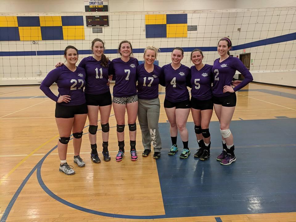 04/14/2018 USAV Womens B Champions - Dirty Half Dozen