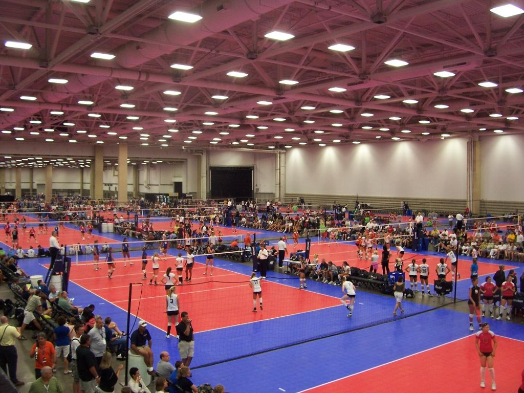 Nationals Mappings for 2018 USAV Nationals