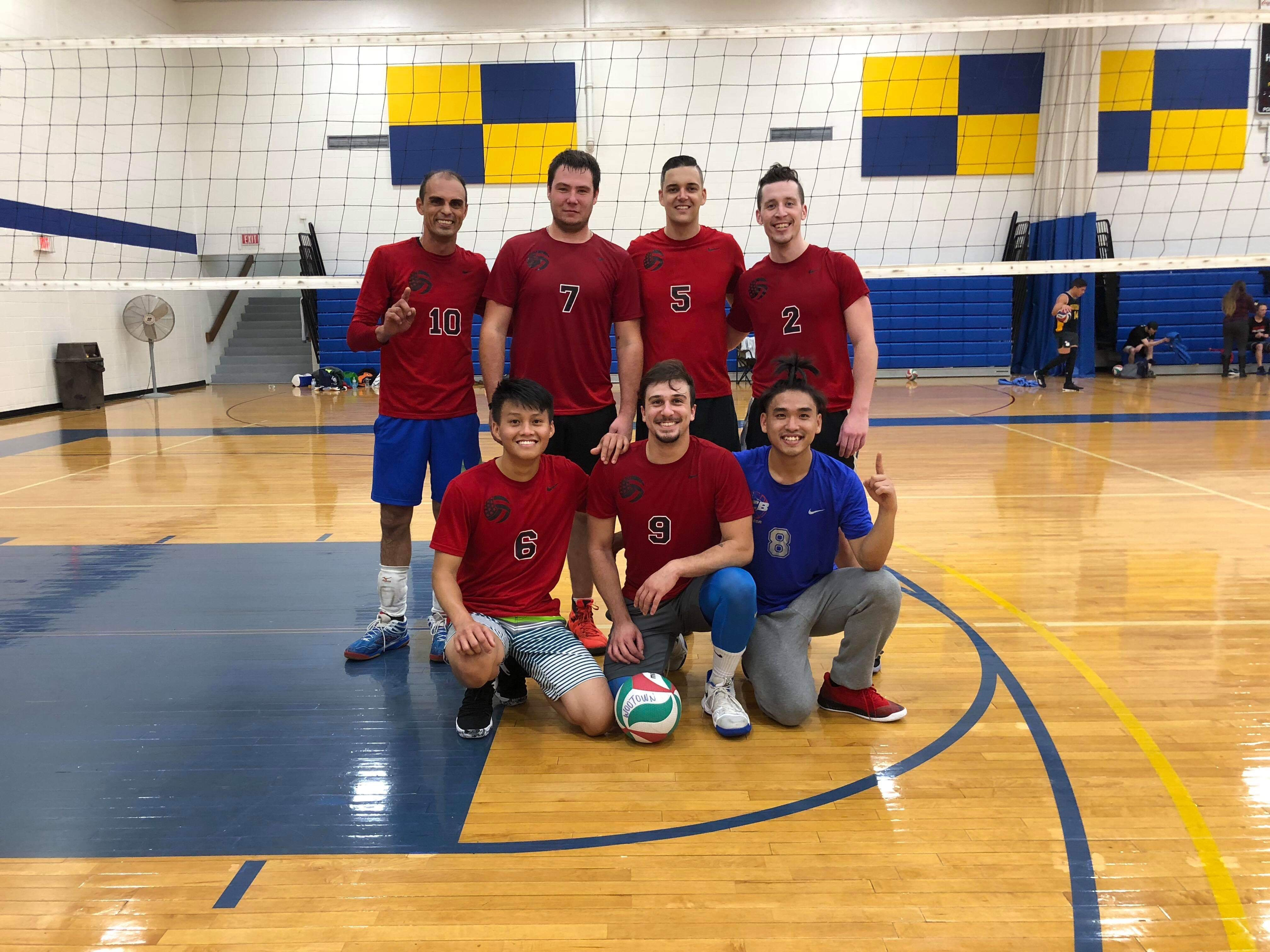 10/14/2018 MB- Champions - Brazilians Spike It Hot