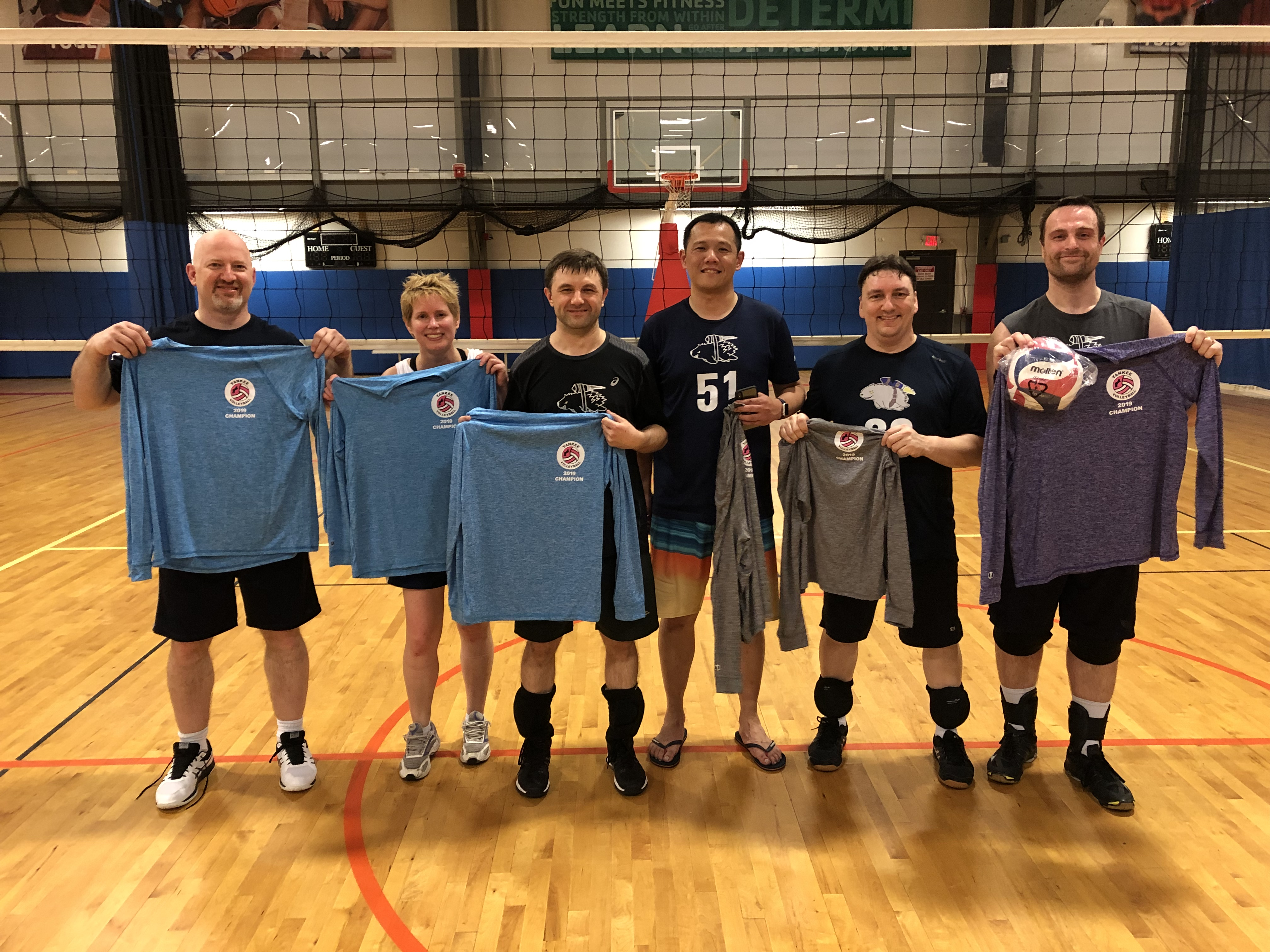 5/11/19 Flying Porcupines defeat No Diggity to win MC- champs