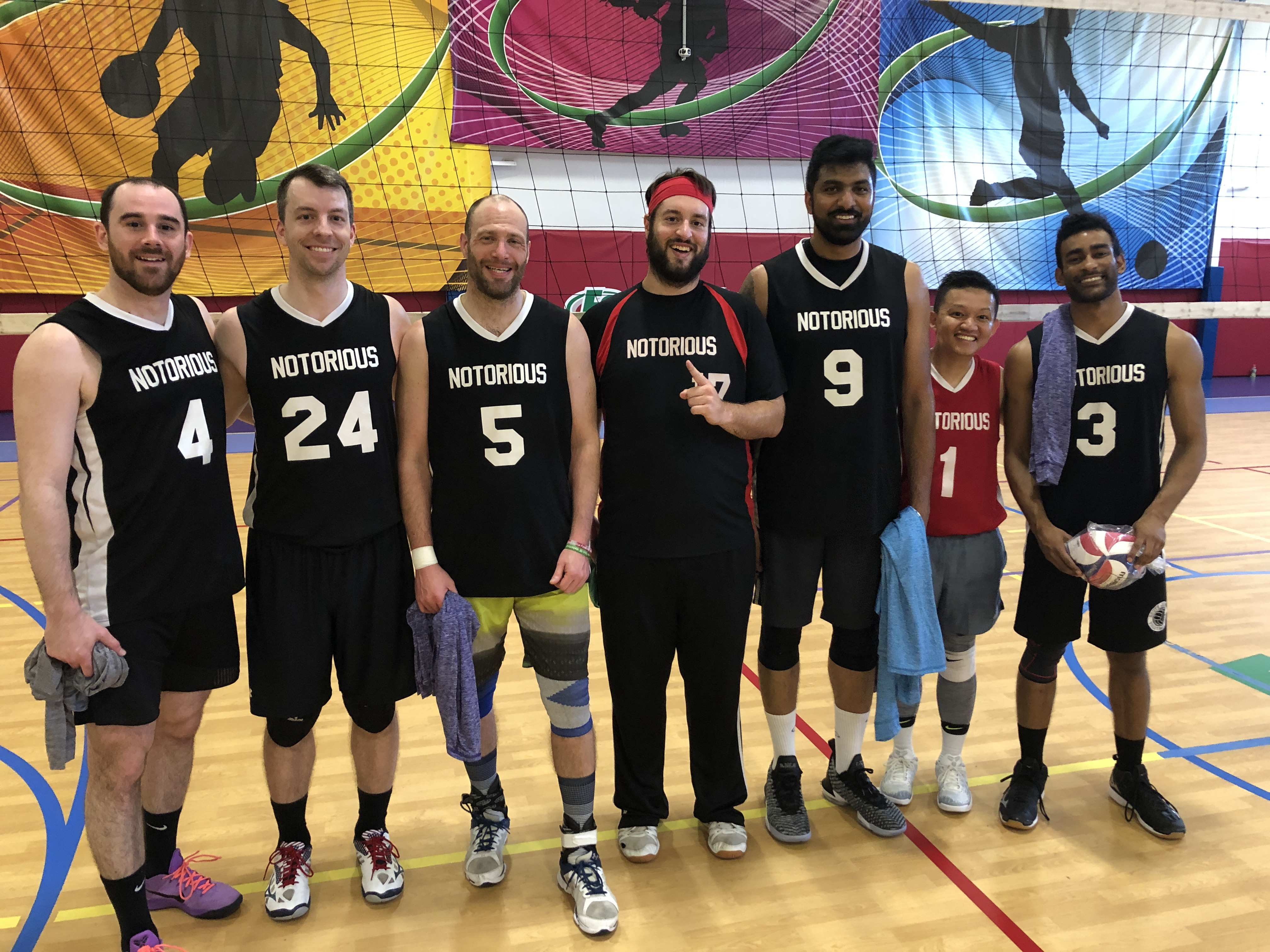 NOTORIOUS Win's the Men's B- Champs