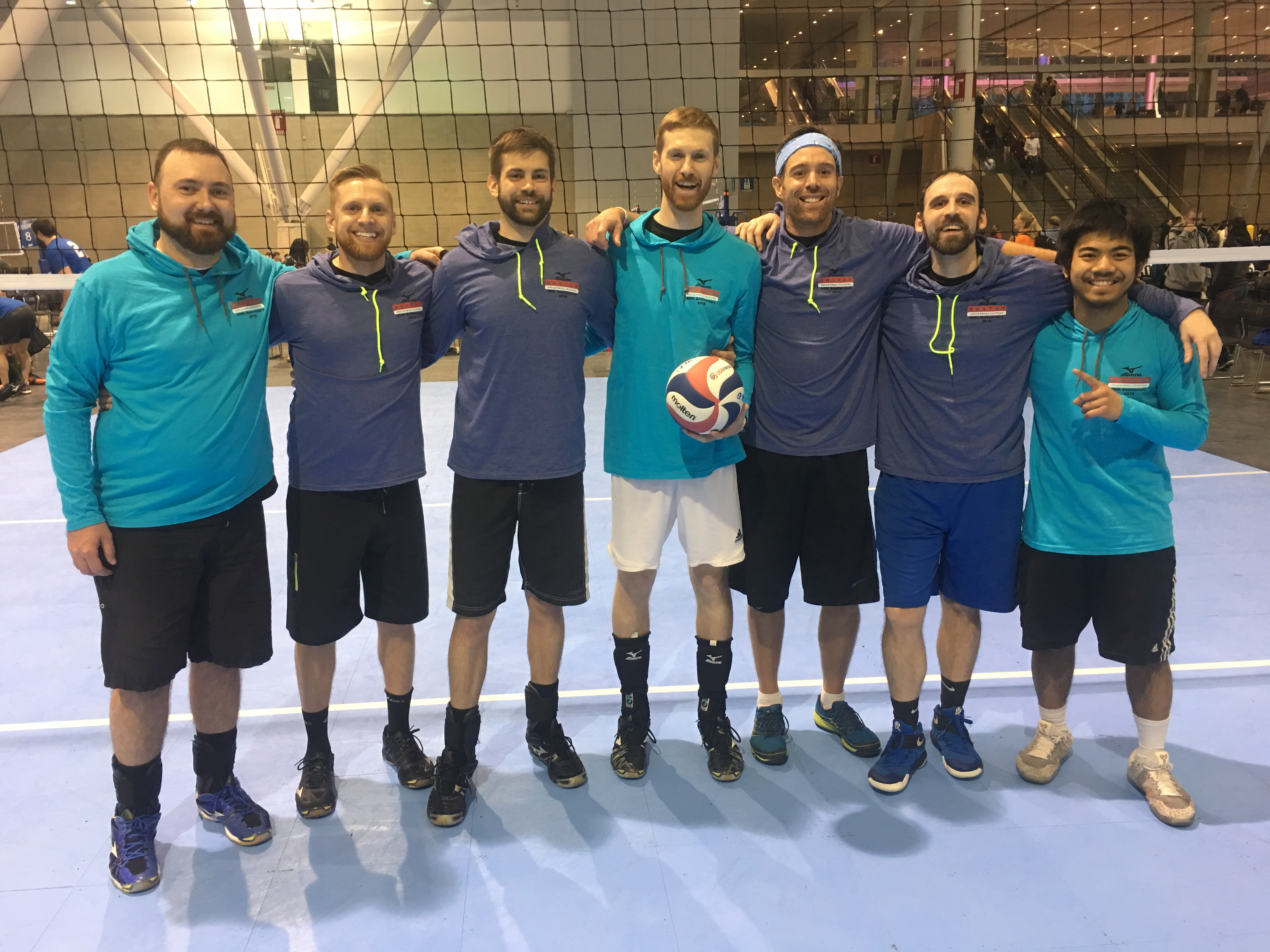 Quinlan Realty Group beats Mass Spike in the Men's C+ at the BCEC
