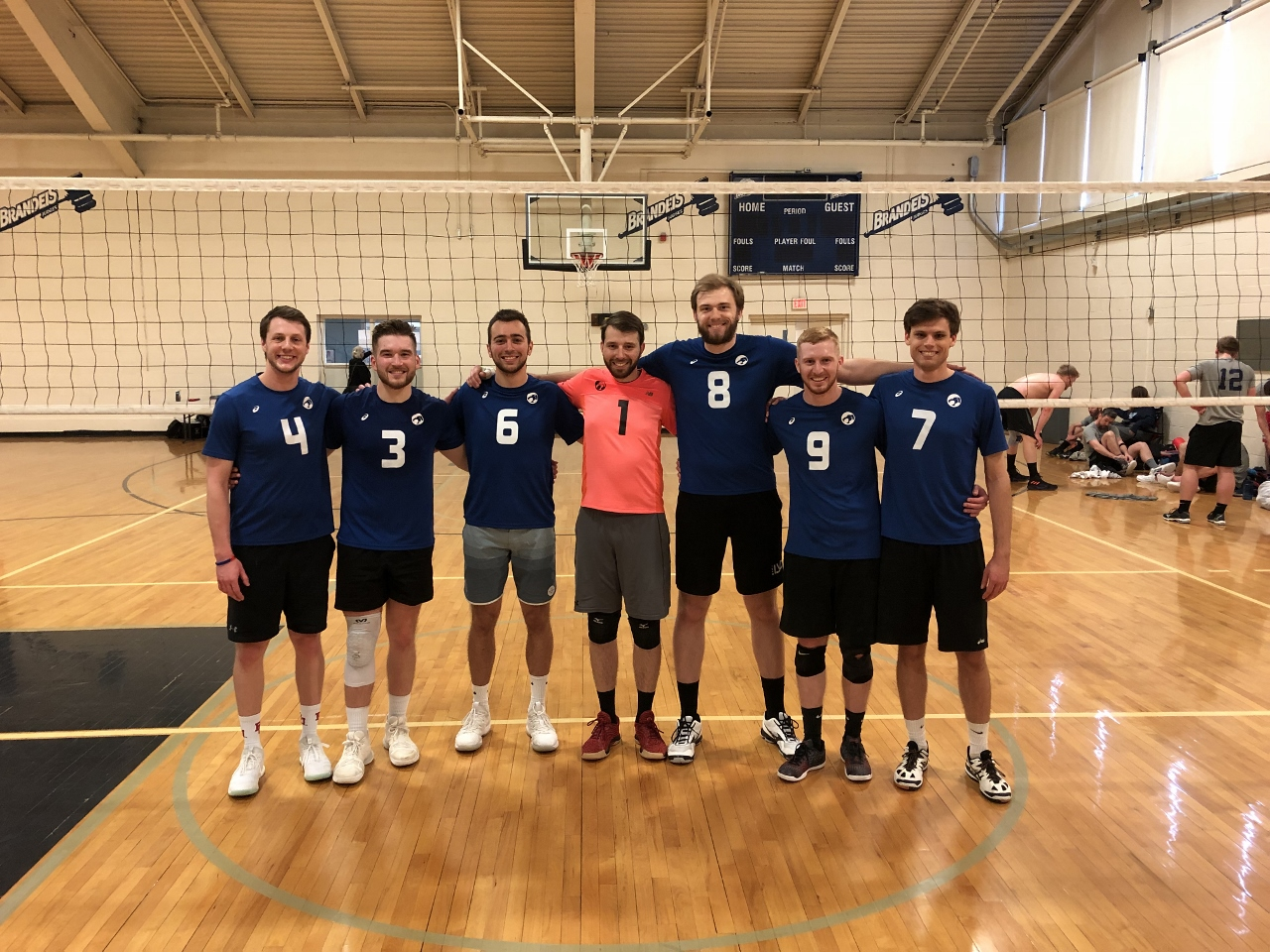 4/28/19 Thundercats defeat #Swag to win MAA at Brandeis