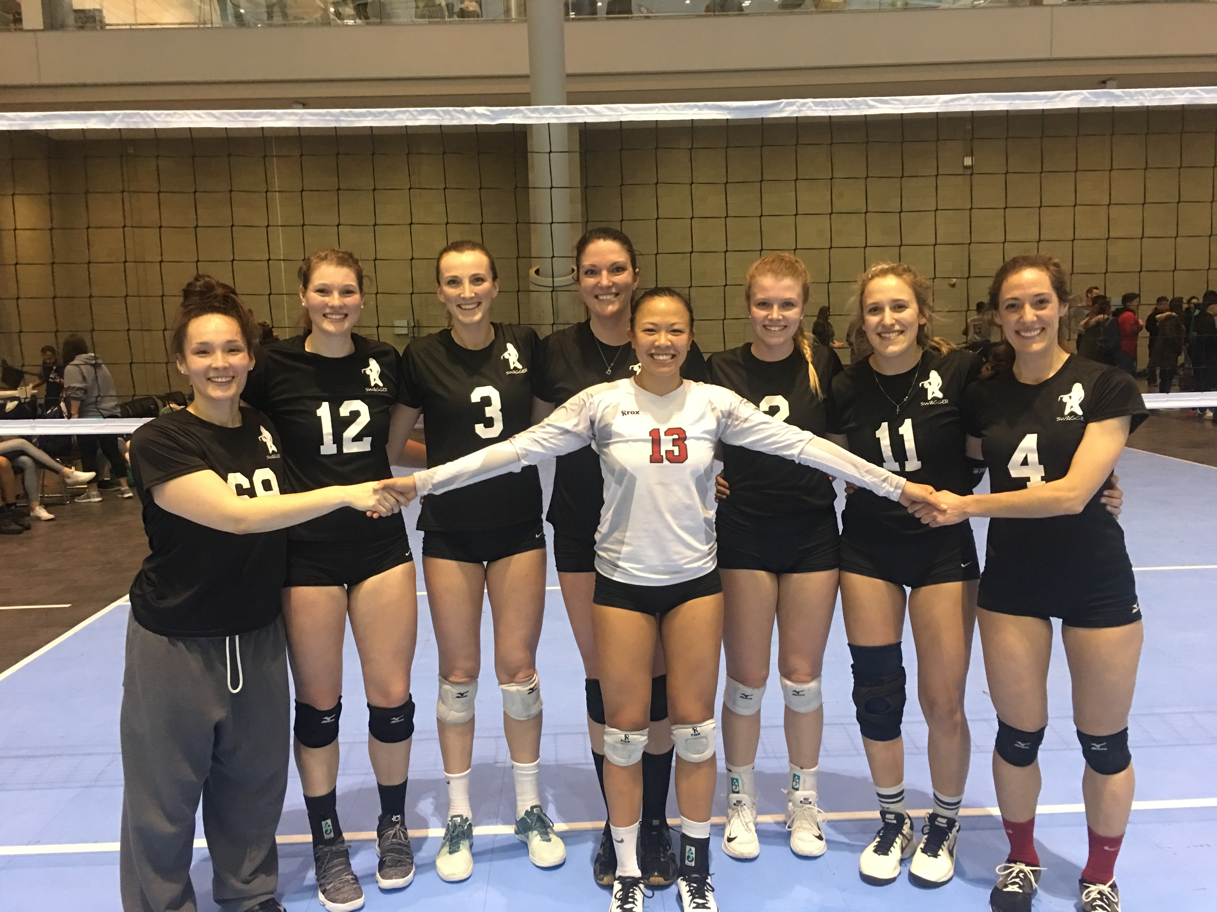 Little Rascals beat Trouble in the Women's USAV A/AA at the BCEC