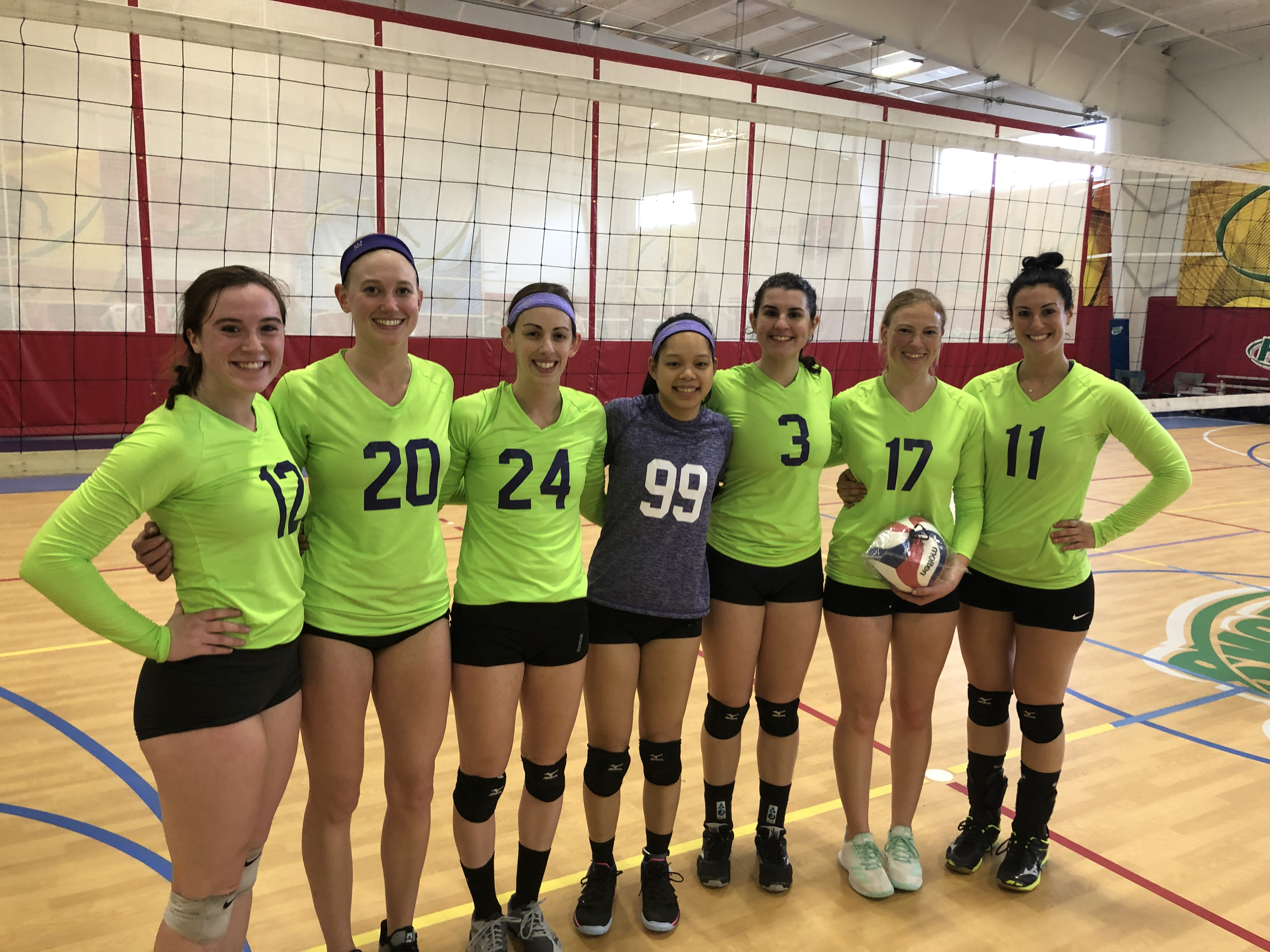 Awkward High 5s win the Women's B Regionals