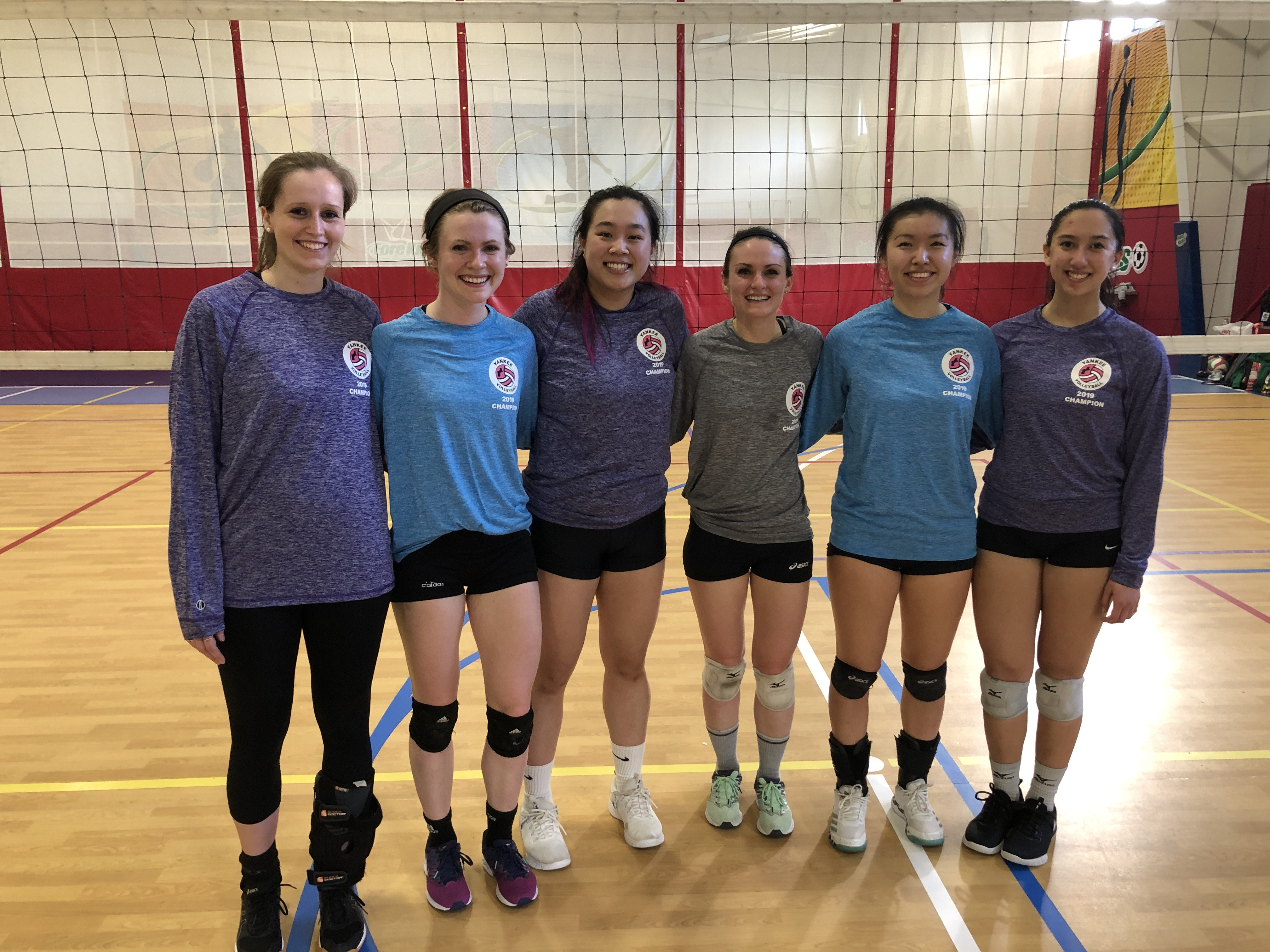 Rising Tables part ii win the Women's B- Champs