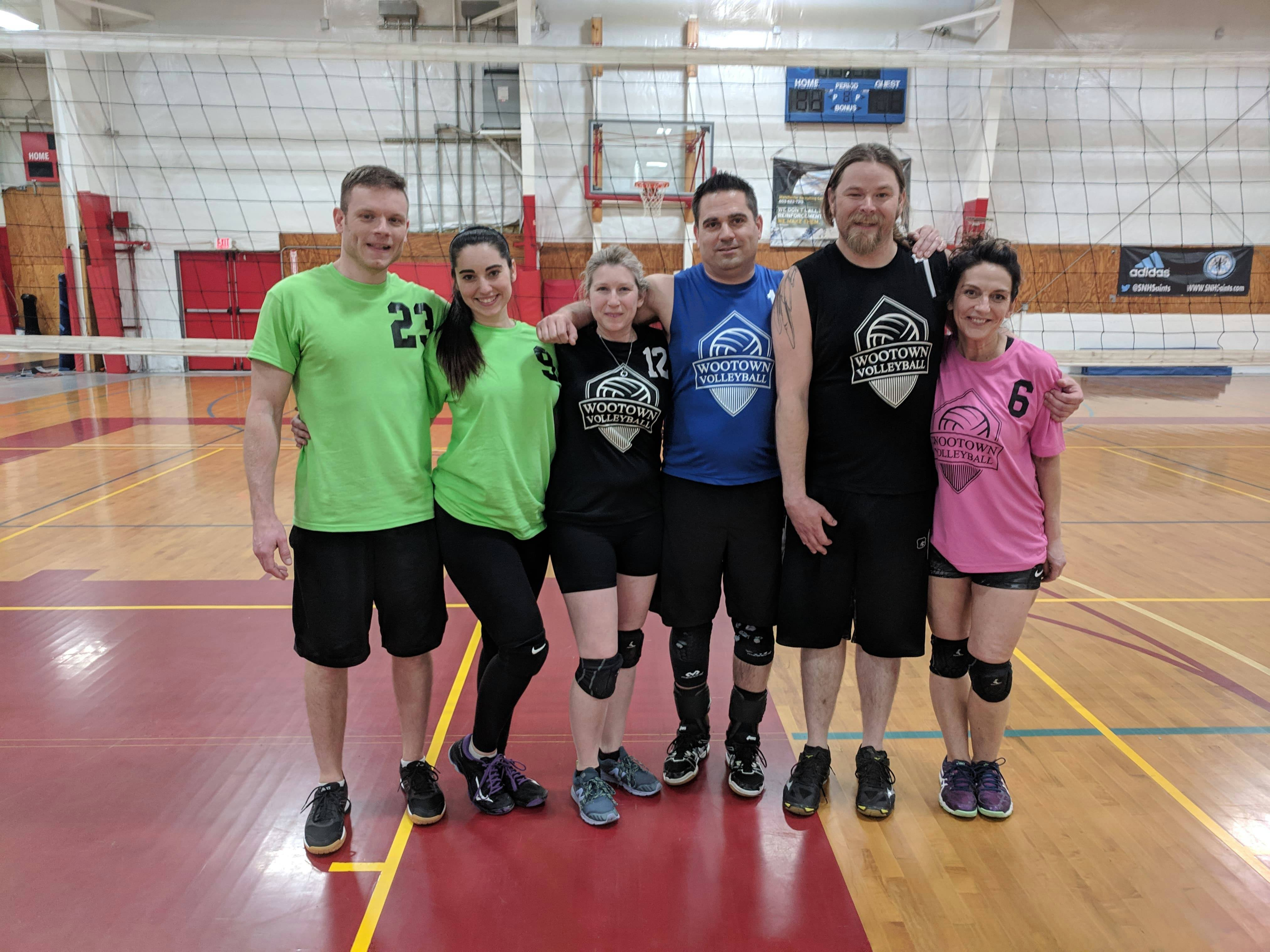 Volley Crew - 03/17/2019