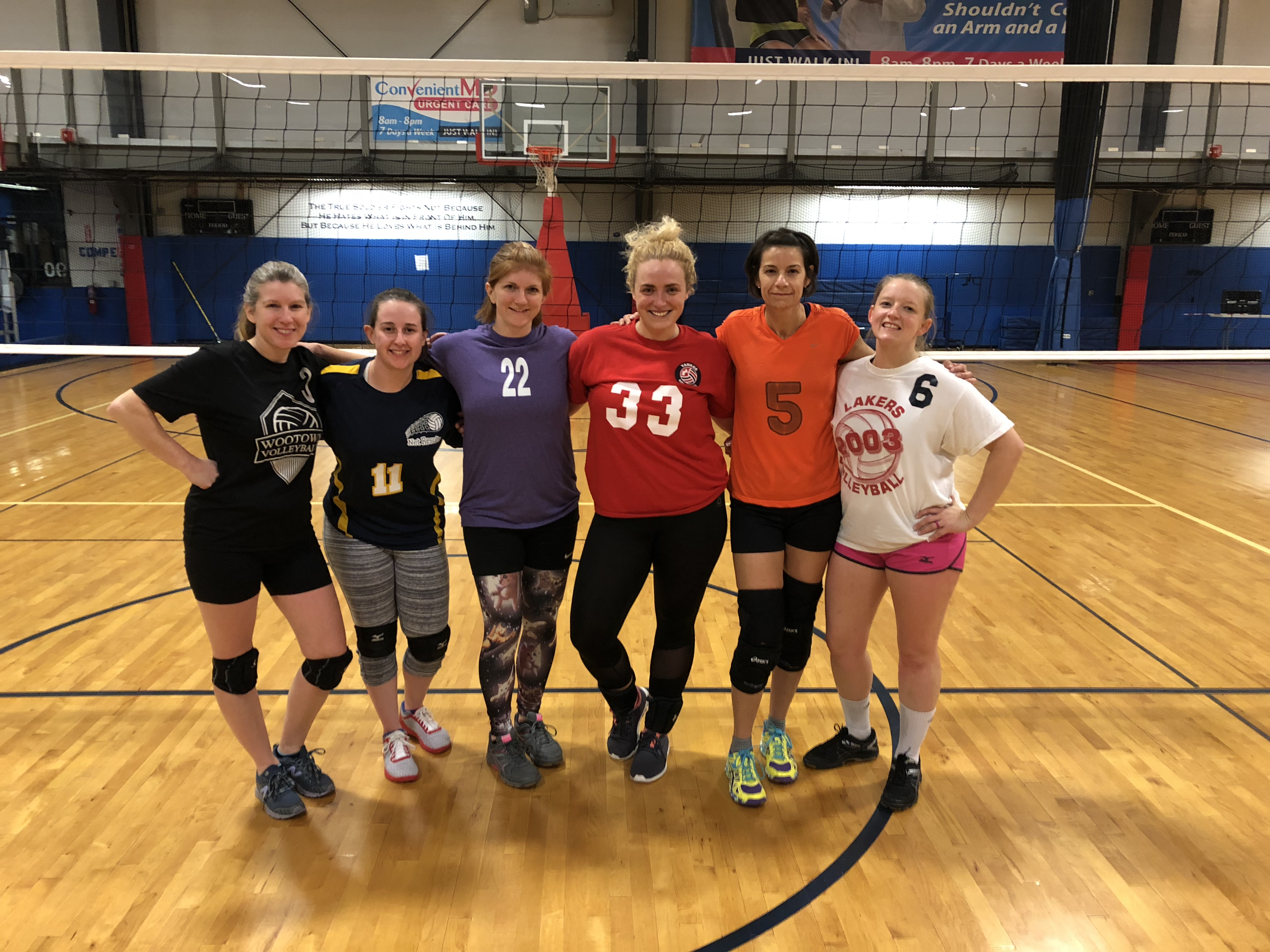 Volleyball stuff  - 11/18/2018